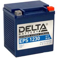 Аккумулятор DELTA EPS 12В 30 Ач, 400 А (EPS 1230), обратная полярность ⁶