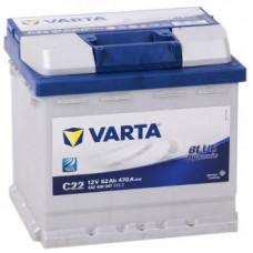 Аккумулятор VARTA Blue Dynamic 52 Ач, 470 А (C22 ), обратная полярность ²