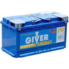 Аккумулятор GIVER ENERGY 110 Ач, 950 А, обратная полярность ²