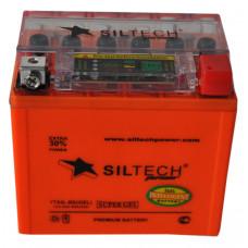 Аккумулятор SILTECH i GEL 12В 5 Ач, 80 А (YTX5L-BS) GEL, обратная полярность ¹
