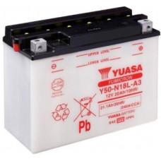 Аккумулятор GS YUASA  12В 20 Ач (Y50-N18L-A3), обратная полярность ⁶