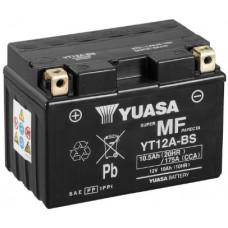 Аккумулятор GS YUASA  12В 10 Ач, 175 А (YT12A-BS), прямая полярность ⁶
