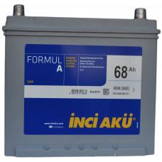 Аккумулятор INCI AKU Asia FormulА 68 Ач, 600 А (80D23L), обратная полярность ¹