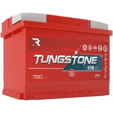 Аккумулятор TUNGSTONE  77 Ач, 720 А EFB, прямая полярность ²
