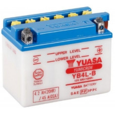 Аккумулятор GS YUASA  12В 4 Ач (YB4L-B), прямая полярность ⁶