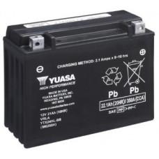 Аккумулятор GS YUASA  12В 21 Ач, 350 А (YTX24HL-BS), обратная полярность ⁶