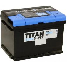 Аккумулятор TITAN Euro Silver 60 Ач, 600 А, низкий, обратная полярность ⁵