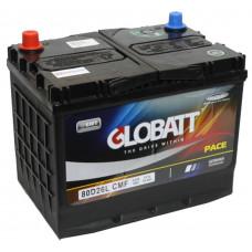 Аккумулятор GLOBATT Asia  70 Ач, 600 А (80D26R), прямая полярность, нижний борт, АКЦИЯ ¹