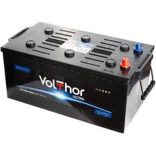 Аккумулятор VOLTHOR Ultra Truck 225 Ач, 1300 А, европейская полярность, конусные клеммы ¹