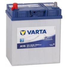 Аккумулятор VARTA Asia Blue Dynamic 40 Ач, 330 А (A15), прямая полярность, тонкие клеммы ¹