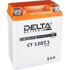 Аккумулятор DELTA CT 12В 7 Ач, 100 А (CT 1207), прямая полярность ⁶