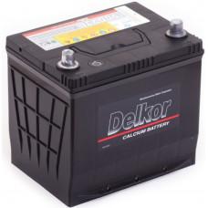 Аккумулятор DELKOR Asia  70 Ач, 600 А (90D23R), прямая полярность, нижний борт ²