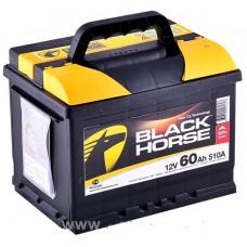 Аккумулятор BLACK HORSE  60 Ач, 540 А, обратная полярность ²