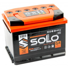 Аккумулятор SOLO PREMIUM 64 Ач, 640 А, обратная полярность ²