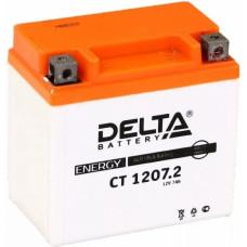 Аккумулятор DELTA CT 12В 7 Ач, 130 А (CT 1207.2), обратная полярность ⁶