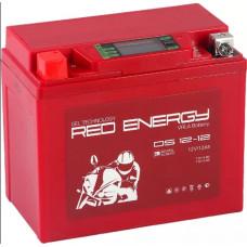 Аккумулятор RED ENERGY DS 12В 12 Ач, 185 А (DS 1212), прямая полярность ⁶