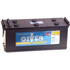 Аккумулятор GIVER ENERGY 140 Ач, 930 А, российская полярность, конусные клеммы ²