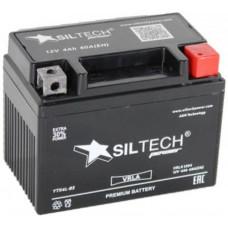 Аккумулятор SILTECH VRLA 12В 4 Ач, 60 А (YTX4L-B), обратная полярность ¹