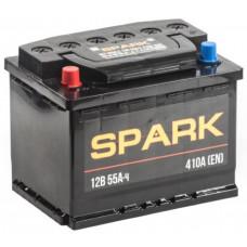 Аккумулятор SPARK  55 Ач, 450 А, прямая полярность ²