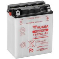 Аккумулятор GS YUASA  12В 12 Ач (YB12AL-A2), обратная полярность, с электролитом ⁶