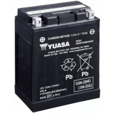 Аккумулятор GS YUASA  12В 12 Ач, 210 А (YTX14-AH-BS), прямая полярность ⁶