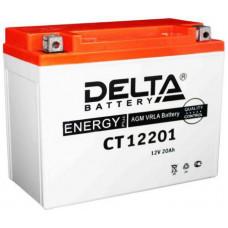 Аккумулятор DELTA CT 12В 20 Ач, 270 А (CT 12201), обратная полярность ⁶