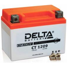 Аккумулятор DELTA CT 12В 9 Ач, 135 А (CT 1209), прямая полярность ⁶