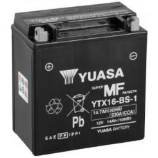 Аккумулятор GS YUASA  12В 14 Ач, 230 А (YTX16-BS-1), прямая полярность ⁶